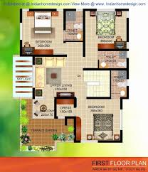 indian duplex house plans sqft lovely single story 3 bedroom floor