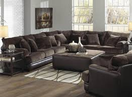 Full Size of Sofa:large Microfiber Sectional Interesting Living Room  Interior Using Large Sectional Sofas ...