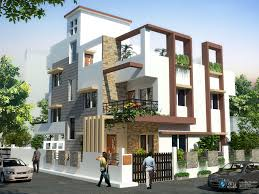 Independent House Elevation Designs In India House Elevation - Modern apartment building elevations