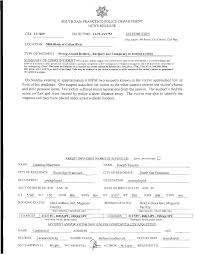 Ssfpd Media Release Strong Armed Robbery Burglary 3800
