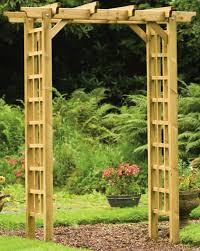 Small Picture Garden Wooden Arches Designs Garden ideas and garden design