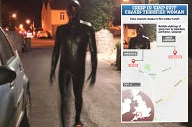 Suspect in his 20s arrested after 'grunting' creep in 'gimp suit' chases ...
