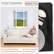 Fenster Fliegengitter Von Insect X Zuschneidbar Für Alle Fenster