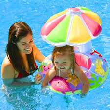 pool water with float. Modren Water Summer Inflatable Toddler Baby Swimming Ring Swim Ring Infant Swimming Pool  Water Float Seat With Floret To With N