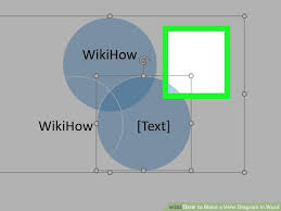 Draw Venn Diagram In Word How To Make A Venn Diagram In Word 15 Steps With Pictures