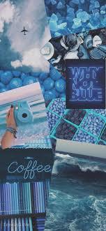 Blue aesthetic wallpaper💙