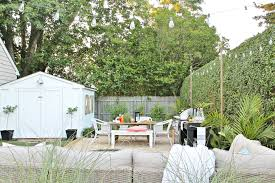 backyard reveal using the most of your small space