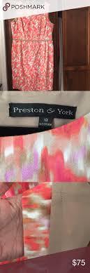Dillards Preston York Watercolor Dress Looks Like A