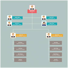 School Structure Flow Chart Organizational Chart Templates Editable Online And Free To