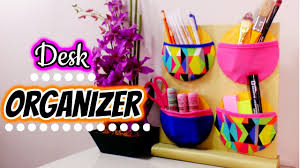 DIY Desk Organizer / Pencil Holder * Recycled Craft * How to Make a Space  Saving Desk Organizer