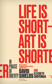 tnb nonfiction excerpt of life is short art is shorter by david  cover lifeisshortartisshorter introduction
