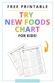 Trying New Foods Chart Pin On Helpful Healthy Eating Tips