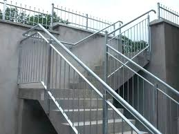 metal handrails for stairs steel hand railings outdoor steps stainless interior uk