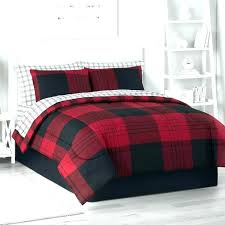 red plaid king size bedding twin creative ideas buffalo check comforter set sets queen