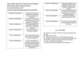 twelfth night sow ks full lesson resources by missrathor essay plan twelfth night doc