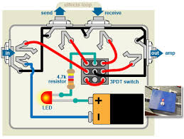 build this bypass pedal to turn your stompboxes off stewmac com diagram bypass pedal wiring