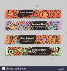 Doodling Designs Templates Doodle Colorful Hand Drawn For Kids And Play Cartoon Design