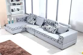 Printed Fabric Sofas Sofa Cushion Material  For34