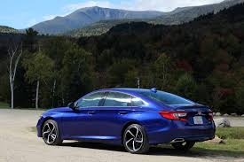 2020 accord touring 2.0t shown for demonstration purposes. Honda Accord 2018 Blue Sport View All Honda Car Models Types