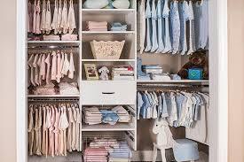 organized closet ideas for baby s room
