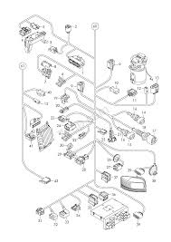 Individual parts wiring harness for interior are audi a3 s3 sportb lim qu a3 europa 2010 year
