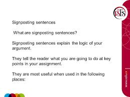 signposting l ing ji aring atilde shy aring nbsp najdar ppt video online signposting sentences