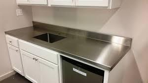 sheet metal countertops