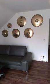 Used cymbal decor