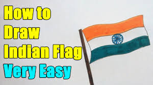 How To Draw Indian Flag On This 26th January 2019 Republic Day 2019
