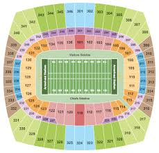 Kansas City Chiefs Vs Oakland Raiders Tickets In Kansas