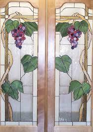 cabinet doors with g motif