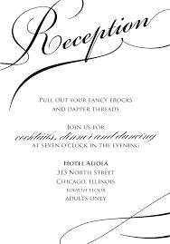 Wedding Ceremony Invitation Fall Templates Unique Free Reception