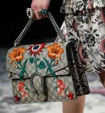 gucci bags fall 2017. gucci gets detailed for its spring 2016 runway bags fall 2017
