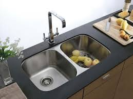 Small Double Kitchen Sinks Kitchen Double Kitchen Sink Intended For Brilliant Double