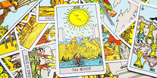 Its light is dim compared to the sun, and only slightly illuminates the path to higher consciousness winding between the two towers. The Moon Tarot Card Meanings Upright Reversed In Love Yourtango