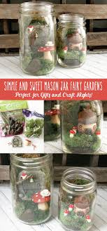 simple and sweet mason jar fairy gardens these are so cute and so easy to