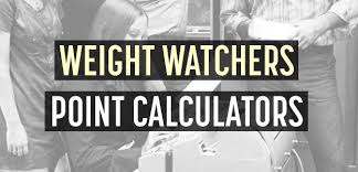 Weight Watchers Points Calculator Chart 2 Weight Watchers Points Calculators Freestyle Smart Points