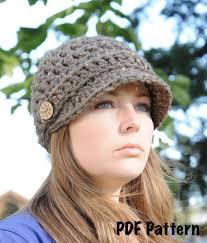 Crochet Hat With Brim Free Patterns