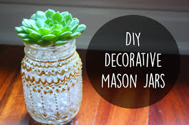 How To Decorate Canning Jars DIY Room Decor Decorative Mason Jars With Puffy Paint ☀ YouTube 25