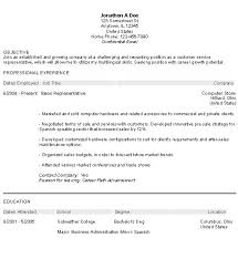 Sample Resume Objective Statement Exampl On Examples Of Career