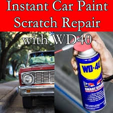 instant car paint scratch repair with wd40 the homestead survival frugal tips