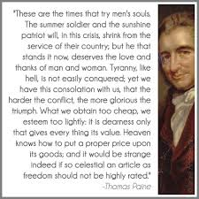 Famous Quotes By Thomas Paine