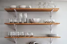 kitchen wall shelves ideas diy kitchen storage ideas