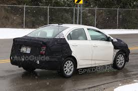 2018 Chevrolet Sonic Sedan Spied Testing in Detroit » AutoGuide ...