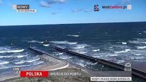 Rowy plaża - nowa kamera na portalu WebCamera.pl - YouTube