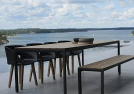 trendy outdoor furniture. illum table design by tribu contemporary outdoor trendy furniture