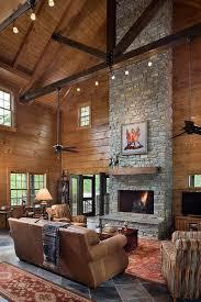 best 25 log home living ideas