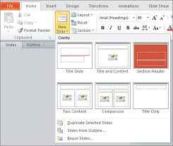 How To Prepare Slides For Ppt Microsoft Powerpoint 2007 2010 Windows