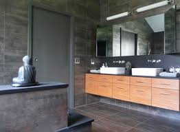 bathroom cabinet design. Floating Cabinet And Vanity Set For Every Home: Asian Bathroom Design With A Peaceful M