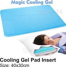 Cooling Gel Pad Pillow Insert